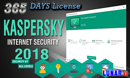 Kaspersky Internet Security(Anti Virus) 365-DAYS-License